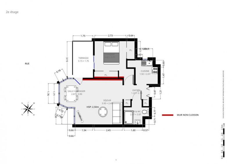 Vente appartement Paris 10ème 440000€ - Photo 9