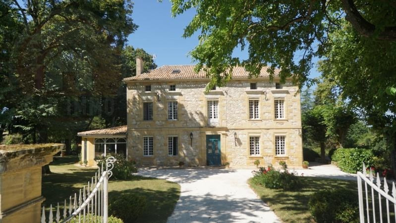 Deluxe sale house / villa St naixent 738000€ - Picture 1