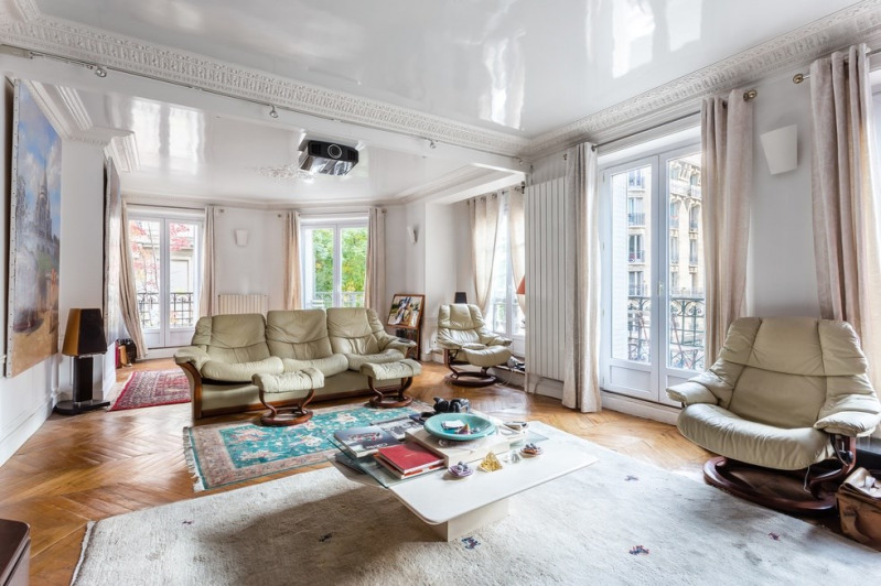 Vente de prestige appartement Paris 18ème 1 175 000€ - Photo 1
