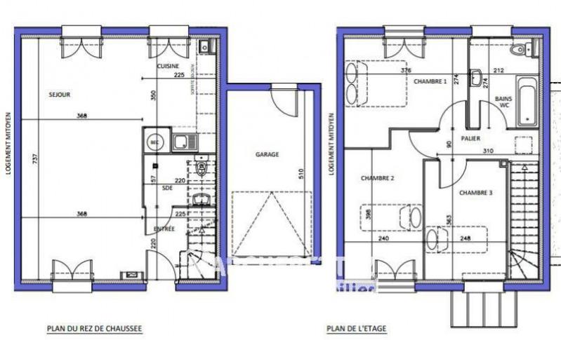 Vente maison / villa Viuz-en-sallaz 287500€ - Photo 7