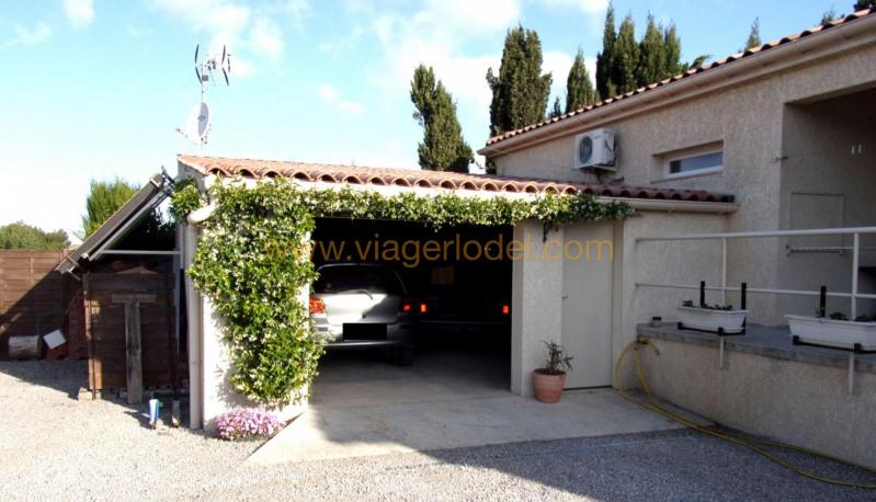 Vendita nell' vitalizio di vita casa Bizanet 65000€ - Fotografia 12