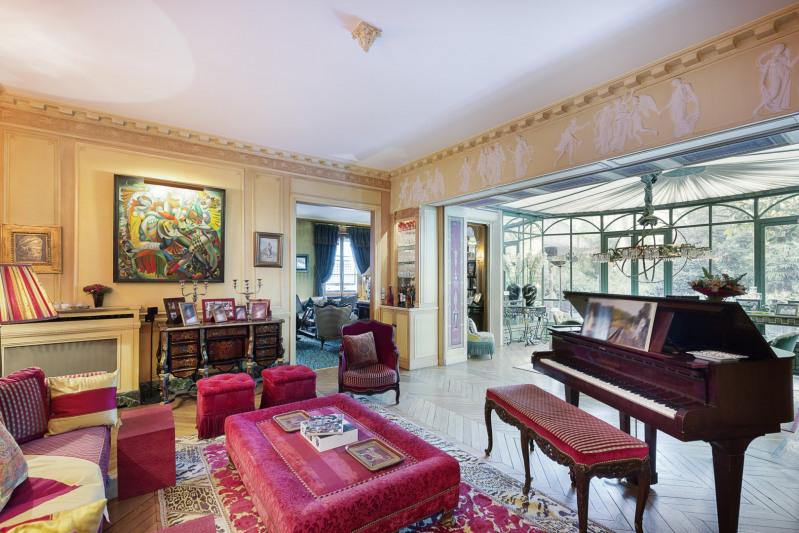 Revenda residencial de prestígio palacete Paris 16ème 11500000€ - Fotografia 5