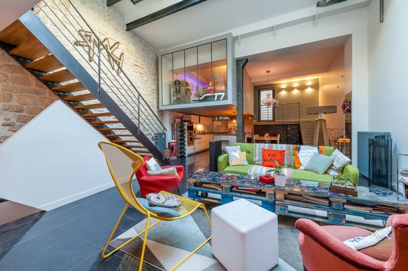 Deluxe sale apartment Paris 19ème 1365000€ - Picture 4