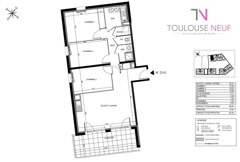 Vente appartement Toulouse 286 000€ - Photo 6