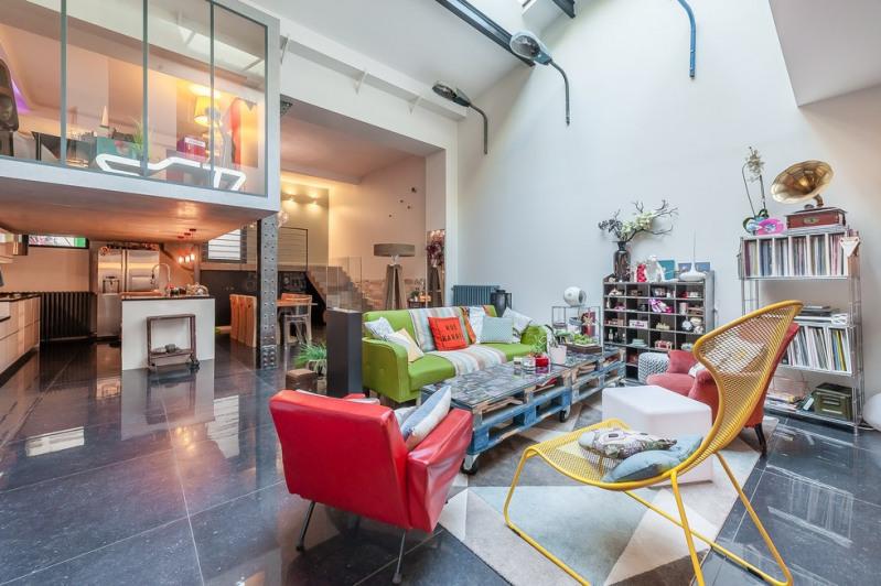 Deluxe sale apartment Paris 19ème 1365000€ - Picture 2