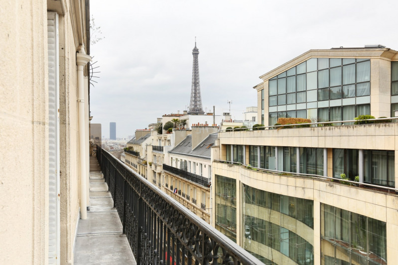 Aрендa квартирa Paris 16ème 3500€ CC - Фото 9