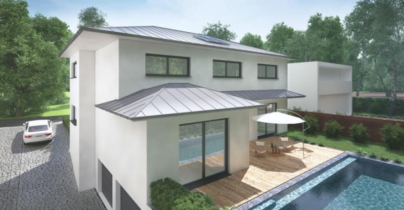 """Modèle de maison  """"Modèle de Villa Solaire à toiture Contemporaine"""" à partir de 6 pièces Hauts-de-Seine par Yvelines Tradition"""