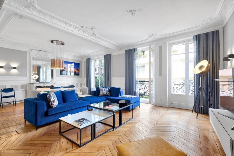 Deluxe sale apartment Paris 16ème 1 790 000€ - Picture 1