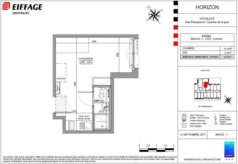 Produit d'investissement appartement Houilles 151218€ - Photo 2
