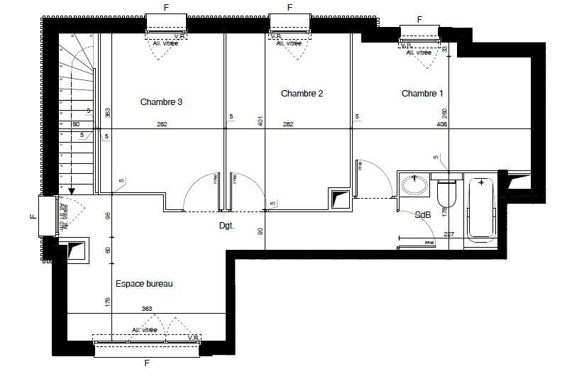 Sale apartment Meyzieu 342300€ - Picture 4