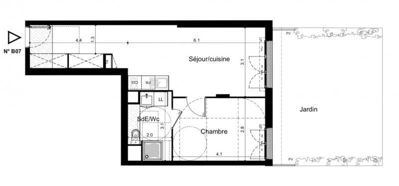 Vente appartement Plaisir 185000€ - Photo 2