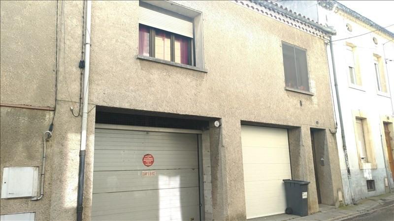 Maison avec garages