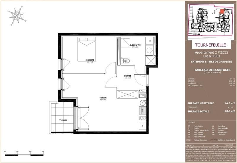 Vente appartement Tournefeuille 169000€ - Photo 6