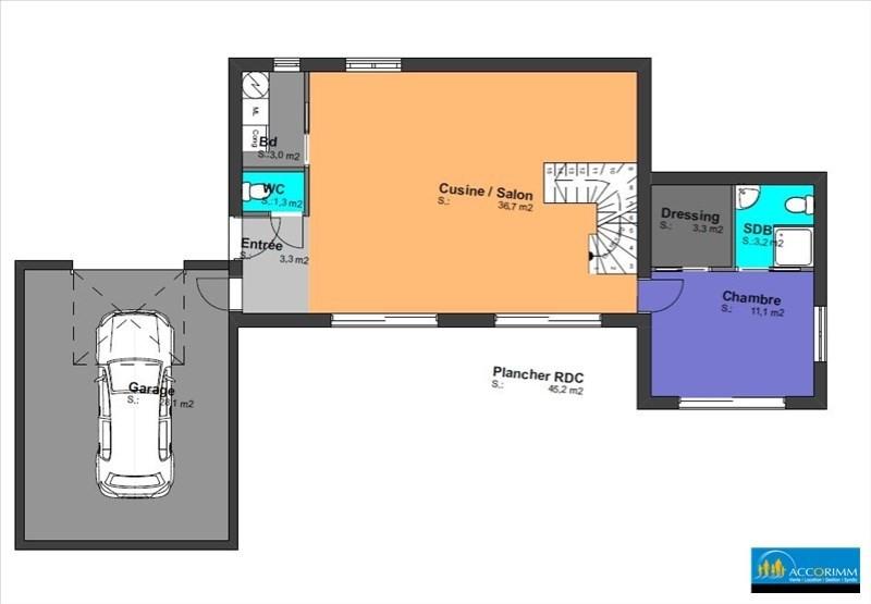 Vente maison / villa St pierre de chandieu 460000€ - Photo 3