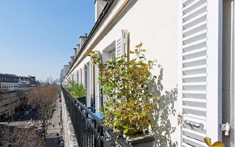 Vente de prestige appartement Paris 17ème 1220000€ - Photo 2