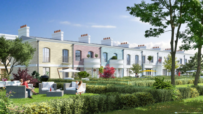 Garden alley programme immobilier neuf serris for Immobilier neuf idf