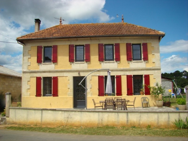 Revenda residencial de prestígio casa Porcheres 577000€ - Fotografia 1