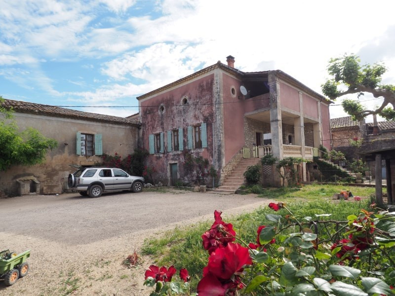 Vente maison / villa Goudargues 318000€ - Photo 1