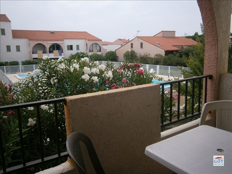 Locação apartamento Le barcares 470€ CC - Fotografia 1