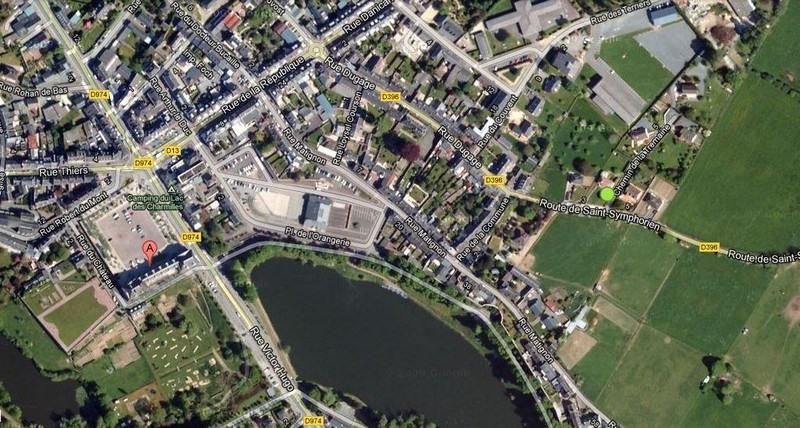 Venta  terreno Torigni sur vire 57900€ - Fotografía 1