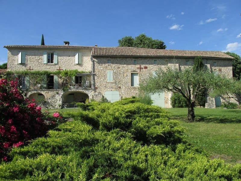 Vente de prestige maison / villa Barjac 799000€ - Photo 4