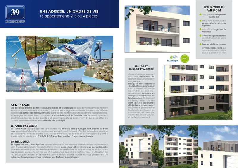 New home sale program Saint-nazaire  - Picture 1