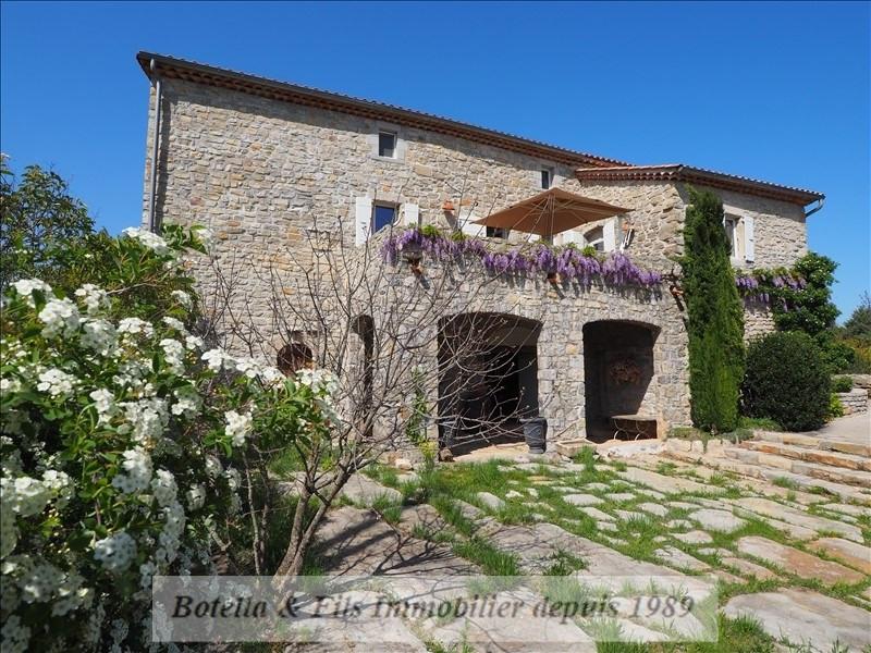 Immobile residenziali di prestigio casa Les vans 599000€ - Fotografia 2