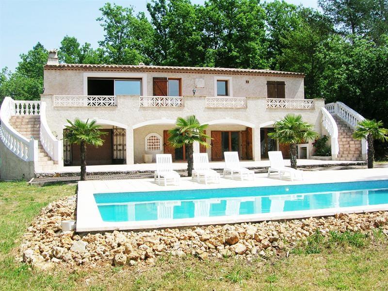 Vente de prestige maison / villa Le canton de fayence 795000€ - Photo 1