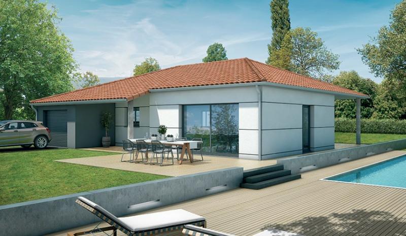 """Modèle de maison  """"Modèle Busca T4 97 m²"""" à partir de 4 pièces Tarn par VILLAS ET MAISONS DE  FRANCE"""
