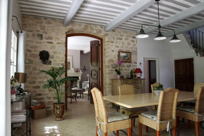 Verkoop van prestige  huis Rochefort du gard 625000€ - Foto 7