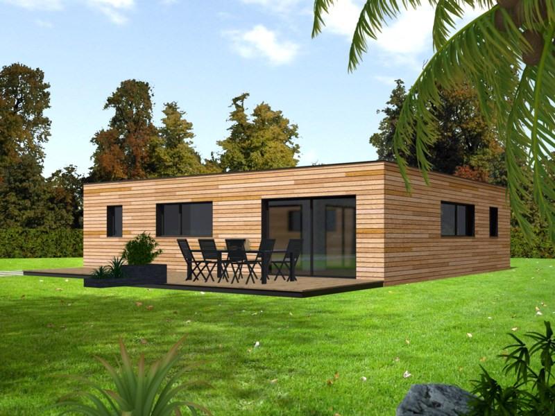 """Modèle de maison  """"Modèle de maison 5 pièces"""" à partir de 5 pièces Eure-et-Loir par PRIMOBOIS YVELINES SUD"""