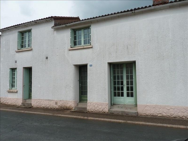 Sale house / villa La copechagniere 71000€ - Picture 1