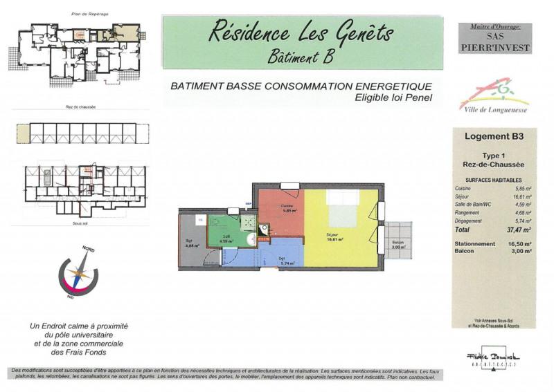 Vente appartement Longuenesse 114000€ - Photo 2