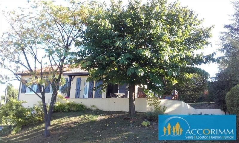 Vente maison / villa Chasse sur rhone 385000€ - Photo 2