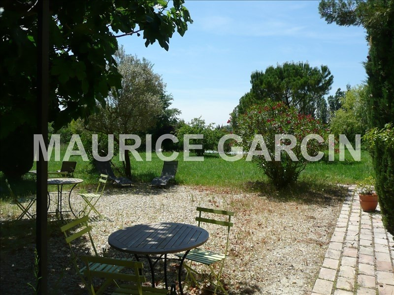 Vente de prestige maison / villa Sarrians 630000€ - Photo 1