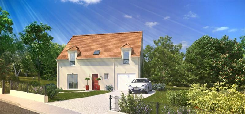 """Modèle de maison  """"Histoire 4.132 GI"""" à partir de 5 pièces Seine-et-Marne par MAISONS PIERRE"""