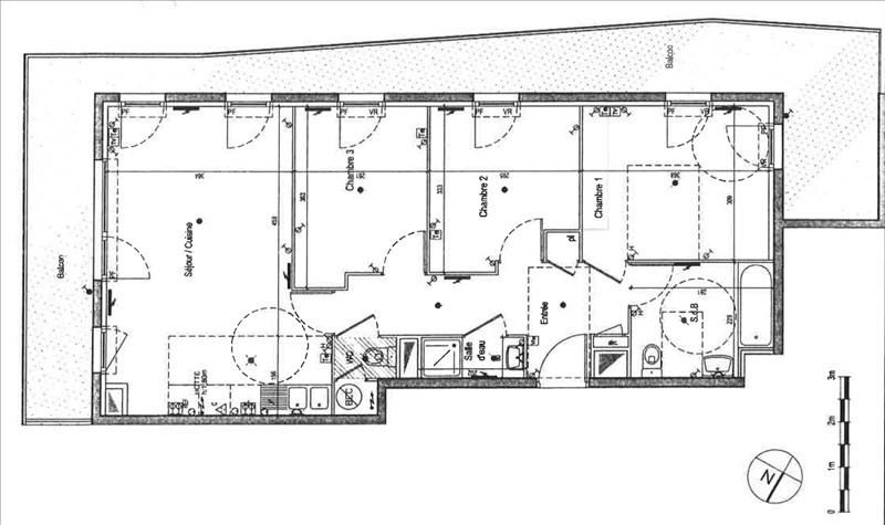 Vente appartement Vitry sur seine 378000€ - Photo 3