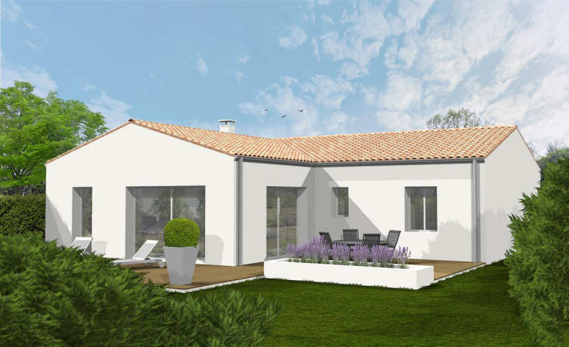 Maison  6 pièces + Terrain 313 m² Le Gué-d'Alleré par SOLIS CONSTRUCTION