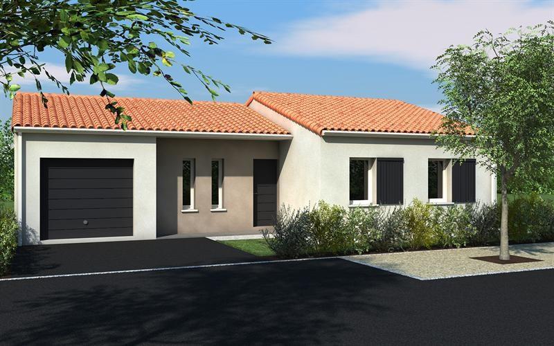 Maison  4 pièces + Terrain 495 m² Pouzioux la Jarrie par DELRIEU CONSTRUCTION