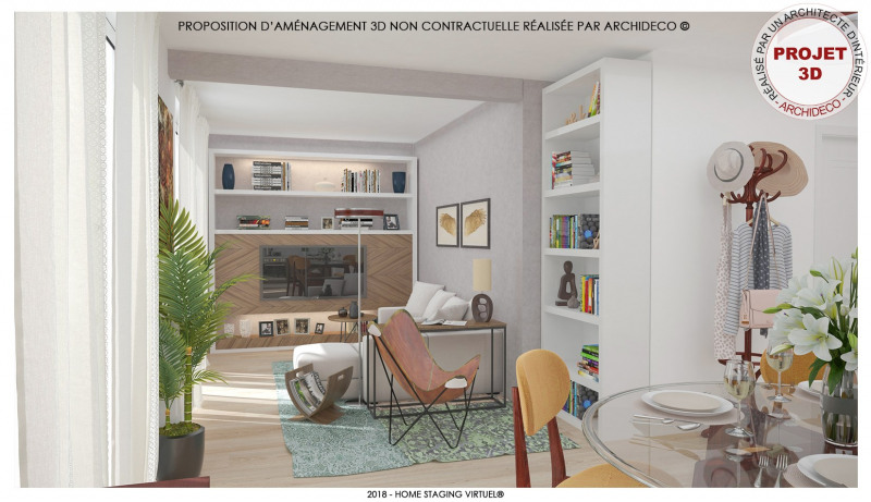 Vente appartement Morieres les avignon 119 000€ - Photo 1