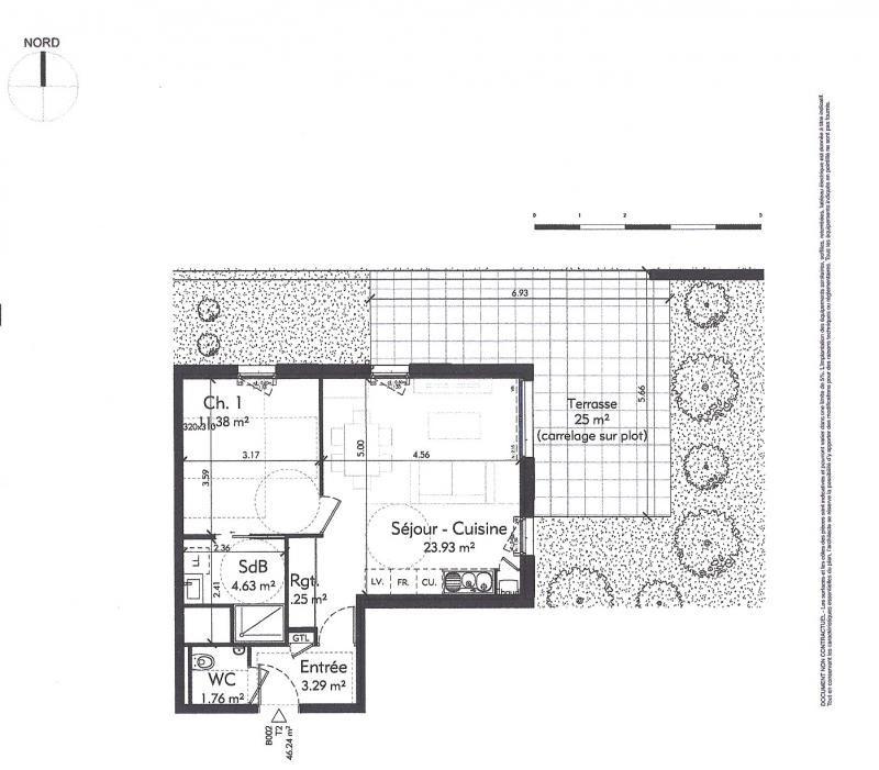 Vente appartement Genas 231927€ - Photo 3