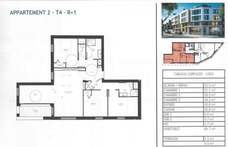 Vente de prestige appartement Antony 475000€ - Photo 4