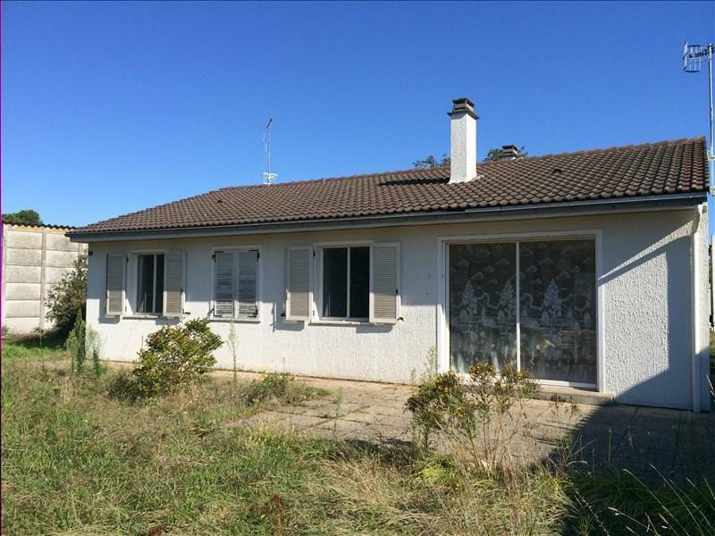 Sale house / villa St vincent sur jard 186300€ - Picture 1
