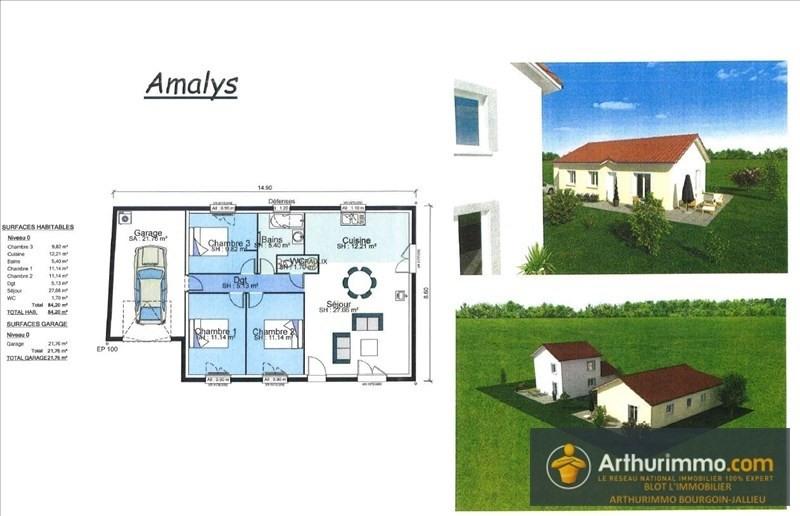 Vente maison / villa Bourgoin jallieu 187400€ - Photo 1