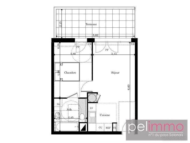 Vente appartement Pelissanne 160000€ - Photo 2