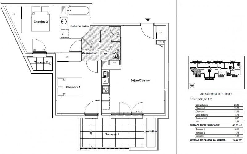 Vente appartement Gardanne 256000€ - Photo 2