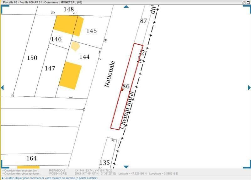Location local commercial Moneteau 525€ +CH/ HT - Photo 2