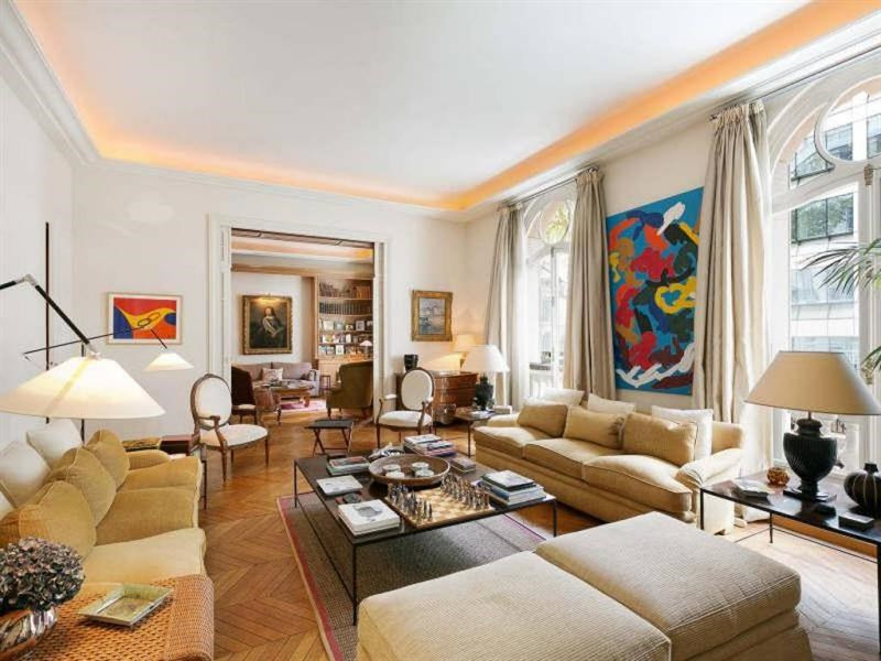 Verkoop van prestige  appartement Paris 16ème 3970000€ - Foto 1