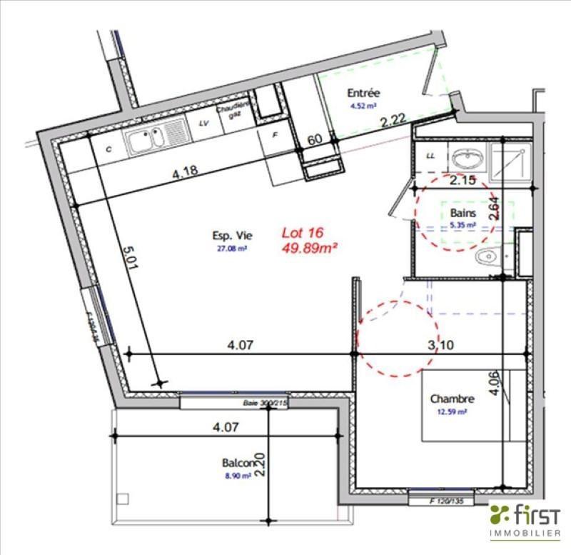 Venta  apartamento Balme de sillingy 200300€ - Fotografía 2