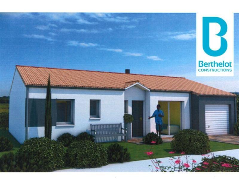 Maison  4 pièces + Terrain 385 m² Le Fenouiller par BERTHELOT CONSTRUCTIONS